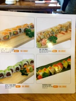 HAHA SUSHI 〜 マンゴー寿司にトライ!