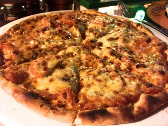 O'brien's Factory 〜 ゴートチーズのピザ美味しい!!