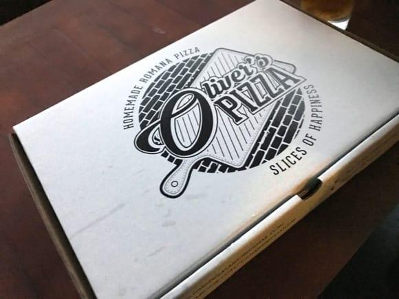 Oliver's Pizza  〜 これは手軽で美味しい!