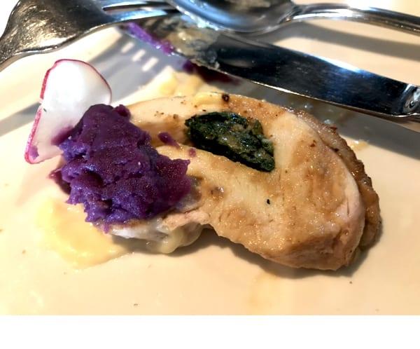 紫芋のペースト??