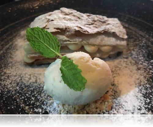 Le Corto新年トリュフコース デザート