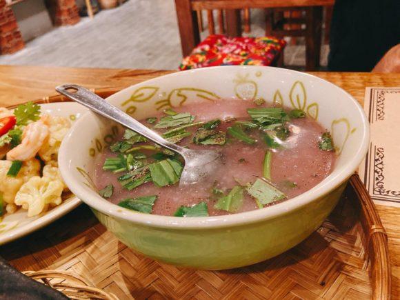 Bep Me In Farm紫芋のスープ