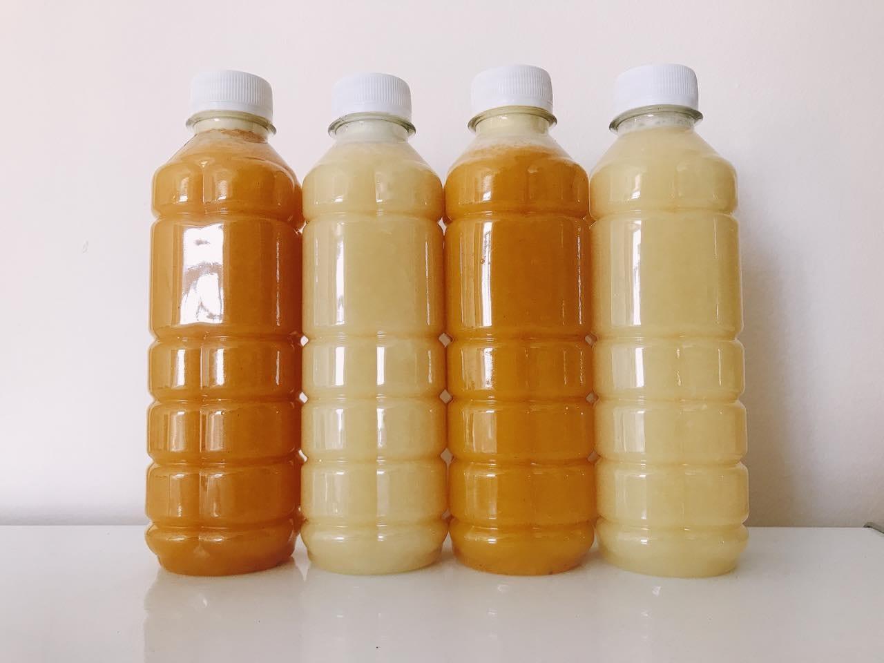 Buoi Ep Hai Dangポメロジュースとパイナップルジュース