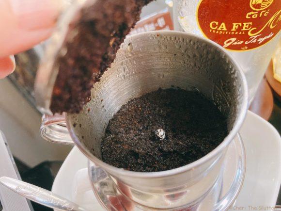 Cafe Mai フィンの中