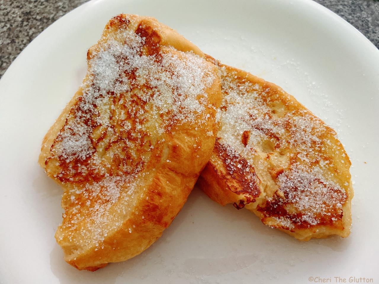美味しそうに焼けたフレンチトースト